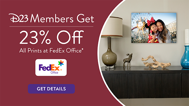 D23 Members Get 23% off all prints at FedEx Office* - Get Details