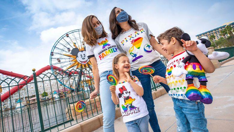 Disney lança coleção Rainbow 2021