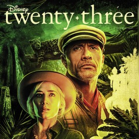 Just Announced: Dwayne Johnson and Emily Blunt Set Sail in Jungle Cruise on the Summer Cover of Disney twenty-three