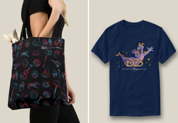 Make These New D23 Tees and Totes Part of Your Summer Style
