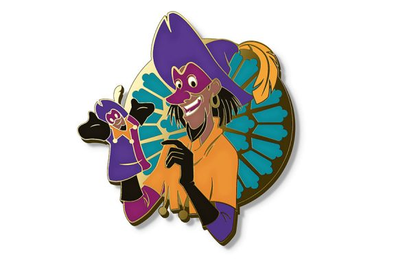 This Hunchback of Notre Dame Pin is a Topsy Turvy D23-Exclusive!