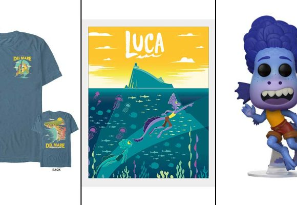 Dive Into the World of Luca with Toys, Books, and More Fun Merch