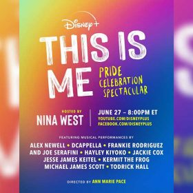 Disney+'s This Is Me: Pride Celebration Spectacular to Debut June 27