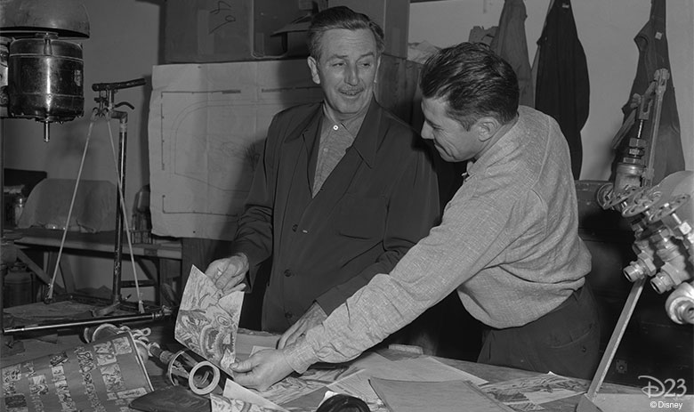 Walt and Bob Mattey