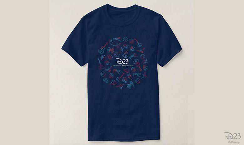 D23 Sketch Design shirt