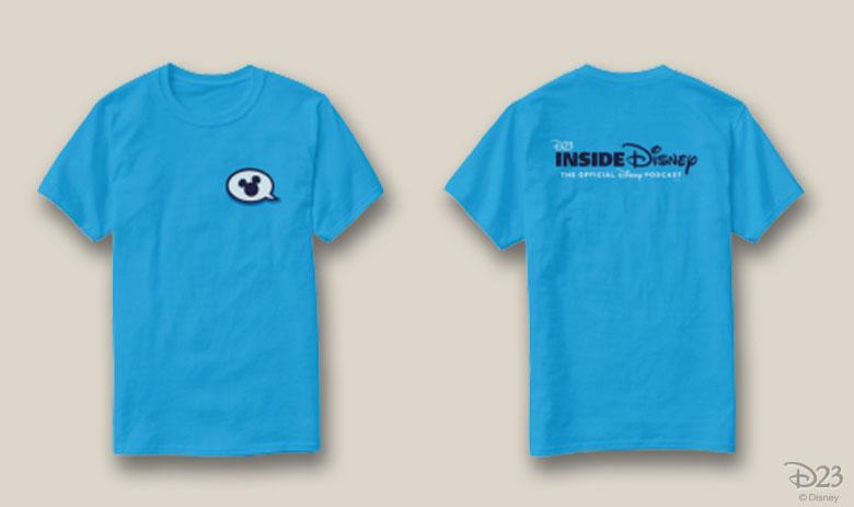 D23 Inside Disney Podcast Shirt