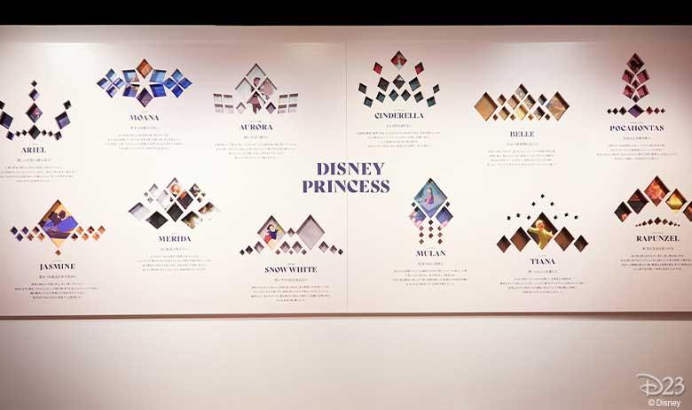 disney princess exhibit