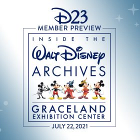 D23 Member Preview of Inside the Walt Disney Archives at the Graceland Exhibition Center