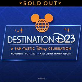 destination d23 2021 sold out