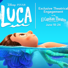 Special Concessions Offer for D23 Gold Members — Disney and Pixar's Luca at the El Capitan Theatre
