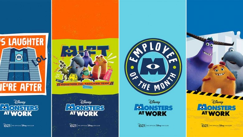 monsters at work wallpapers