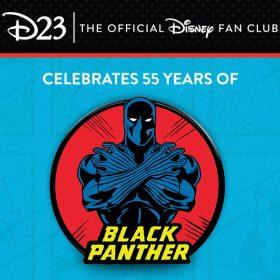 black panther pin