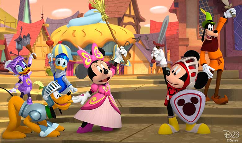 Mickey the Brave!