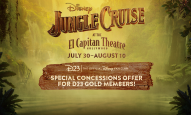 Special Concessions Offer for D23 Gold Members – Jungle Cruise at the El Capitan Theatre