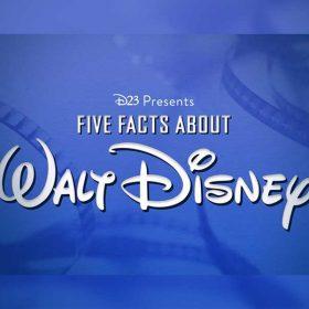 walt disney 5 facts