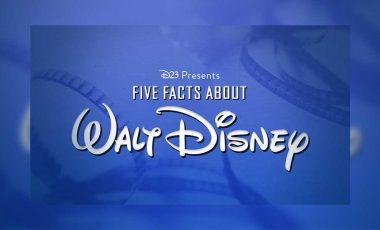 5 Wonderful Facts about Walt Disney
