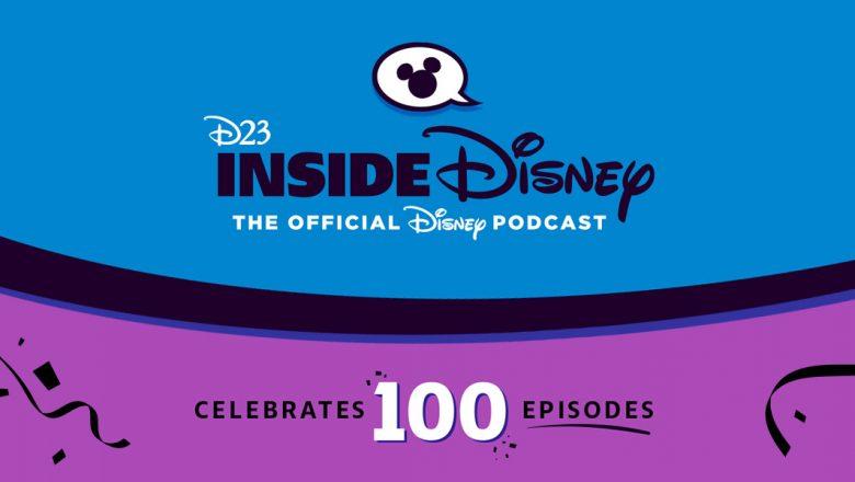 inside disney 100