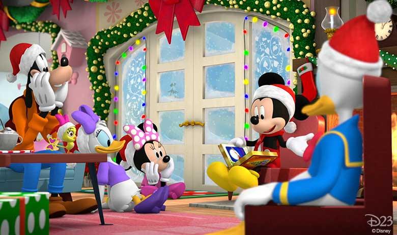 Mickey and Minnie Wish Upon a Christmas