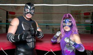 Ultra Violet & Black Scorpion