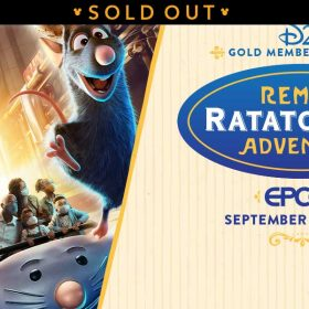 ratatouille preview event sold out