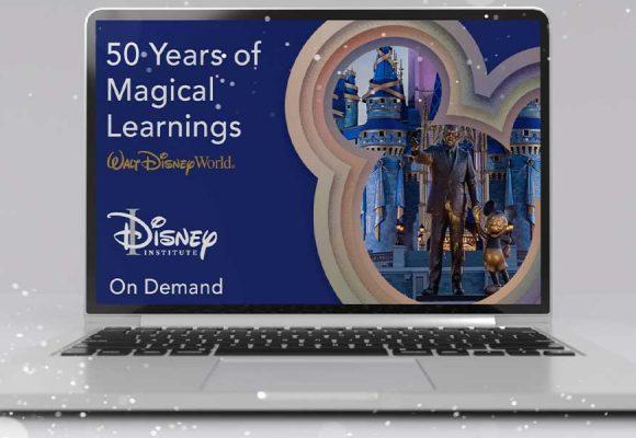 Disney Institute Special Savings for Walt Disney World 50th Anniversary