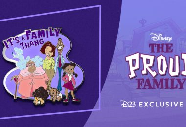 It's a Family Thang! Celebrate 20 Years of The Proud Family with a D23-Exclusive Pin