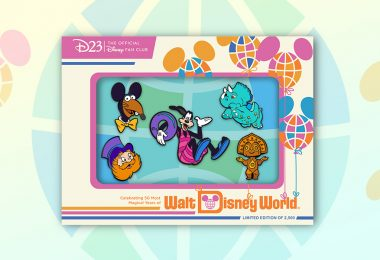 """This New Pin Set Celebrates the Characters of """"The Vacation Kingdom of the World"""""""