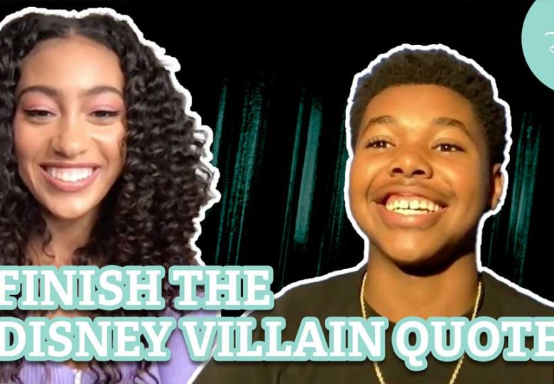 Can the Cast of Just Beyond Finish the Disney Villain Quote?