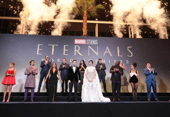 Stargazing at World Premiere of Marvel Studios' Eternals