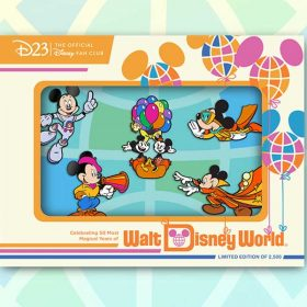 """FINAL PIN SET REVEALED: Celebrate the Many Styles of Mickey Mouse with our """"All Started by a Mouse"""" Pin Set"""