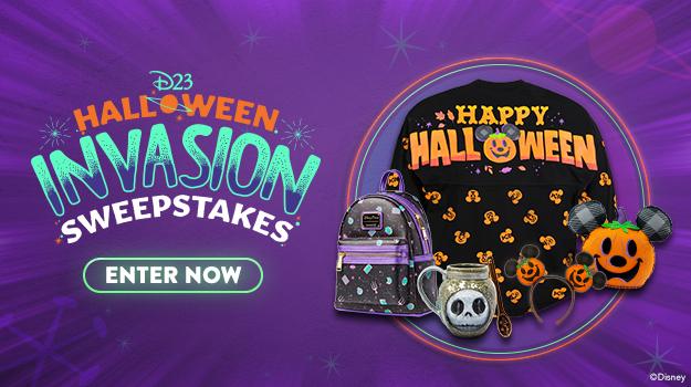 D23 Halloween Invasion Sweepstakes - ENTER NOW