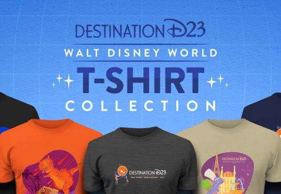 Celebrate Destination D23 with These Cool New T-Shirts