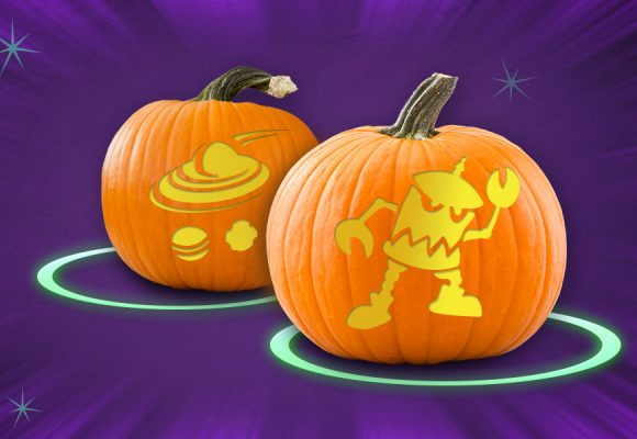 D23 Halloween Invasion Stencils and Decorations