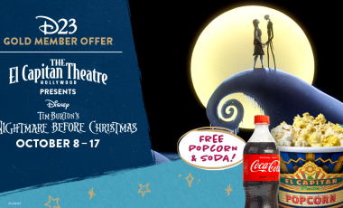 Special Concessions Offer for D23 Gold Members – Tim Burton's The Nightmare Before Christmas at the El Capitan Theatre