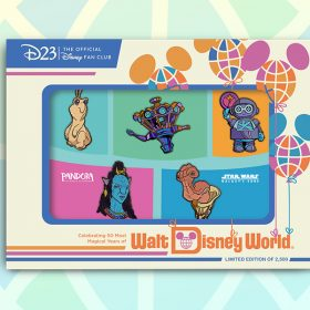 """The """"Galactic Journeys"""" Pin Set Celebrates Out-Of-This-World Disney Parks Characters"""